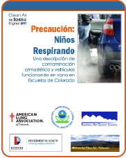 Clean Air at Schools: Engines Off! Report in Spanish