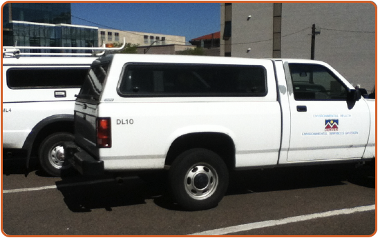 Denver Department of Environmental Health Fleet Vehicles
