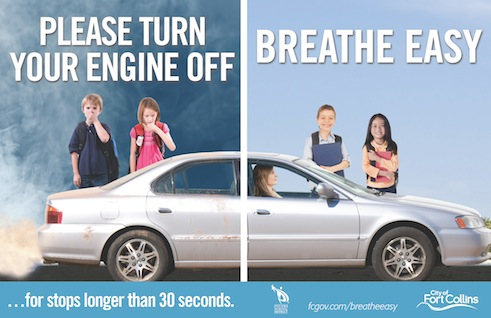 Fort Collins Breathe Easy Poster